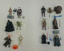 Star wars collection job lot of 12 which all appear complete (C)