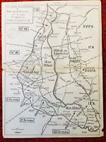Bataille de Picardie 1918 Ligne Hindenbourg Chaulnes Ressons Roye Bapaume Aisne