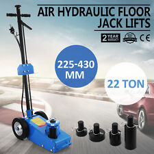 22TON SUPER LOW PROFILE LIFT FLOOR AIR HYDRAULIC TRUCK TROLLEY JACK NEW SAFE