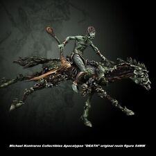 "Michael Kontraros Collectibles Apocalypse ""DEATH"" original resin figure 54MM"
