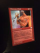 MTG MAGIC WEATHERLIGHT MARAXUS OF KELD (ENGLISH MARAXUS DE KELD) NM