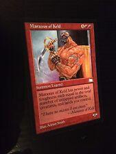 MTG MAGIC WEATHERLIGHT MARAXUS OF KELD (ENGLISH MARAXUS DE KELD) NM