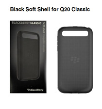 Genuine BlackBerry Q20 Classic Black Soft Shell Case Cover ACC-60086-001