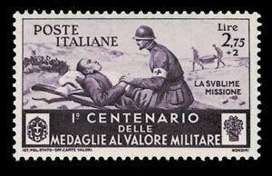 IT6972 - 1934 Regno Medaglie al Valor Militare Regno Sas.376 nuovo MNH/**