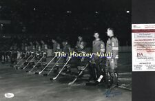 Signed by HALL 1967 INAUGURAL Season OPENING NIGHT for The ST.LOUIS BLUES 11X14!