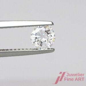 Diamant en Vrac Taille Brillant 0,56 Carats Tw Steel / Si Sans Expertise