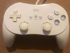 Genuine Official White Nintendo Wii Classic Controller Pro **RVL-005**