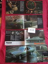 J.4059  / MAZDA 121 L : catalogue texte  français 1974-1978
