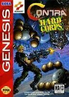 Contra Hard Corps - Authentic Sega Genesis Game