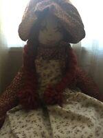 Vintage 70s Handmade Doll High Quality ***Rare***