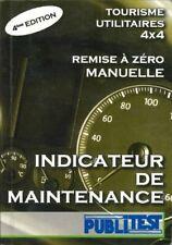 """PUBLITEST Indicateur maintenance """"Remise à Zéro Manuelle"""""""