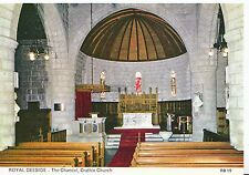 Scotland Postcard - Royal Deeside - The Chancel - Crathie Church - Aberdeen SM81