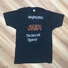 New listing Vintage Detroit Tigers X Calvin & Hobbes T-Shirt 80s Mens M/L Crewneck