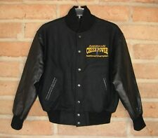 American Cheer Power National Champion Wool & Leather Varsity Jacket Youth Med