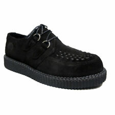 Nevermind Creepers Hombre ante Negro Haley Simple Sole Rockabilly Creepers