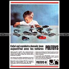POLITOYS METAL SERIE M 1966 - Pub / Publicité / Ad Advert Advertising #A1494