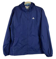 Vintage Adidas Men's Track Jacket Full Zip Long Sleeves Blue Retro 90s Size XL