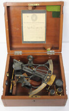 Vintage Sextant By Wilfred O'White Nautical Instruments In Original Box Nice !