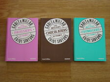 SET OF 3 BOOKS GAULT & MILLAU THE MEILLEURS CHOCOLATE PASTRY CHEESE