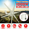 1000W 6 BladeS DC 12/24/48V Horizontal Wind Turbine Generator Charge Controller