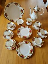 Royal Albert Old Country Roses England Kaffeeservice für 6 Personen