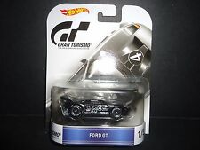 Hot Wheels Ford GT Black Gran Turismo 1/64 DMC55-959C