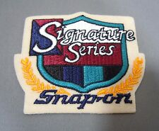 SNAP-ON Tools-Signature Series Iron On Embroidered Uniform-Jacket Patch 3 1/2""