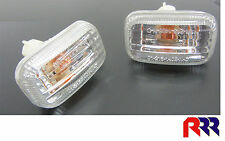 HOLDEN RODEO TF 98-02 GUARD FLASHER BLINKER CRYSTAL CLEAR LENS - PAIR