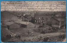 CPA allemande: Sainte-Marie-à-Py, Frankreich / guerre 14-18 / 1915