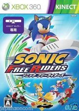 Used Xbox 360 Sonic Free Riders MICROSOFT JAPAN JAPANESE JAPONAIS IMPORT