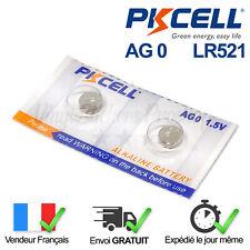 2 PILES / SR521SW / SR63 / LR521 / AG0 / 379 / 1,5V / ENVOI RAPIDE