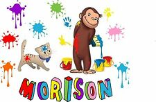 Personalized Curious George T SHIRT Curious George  Birthday Shirt 357