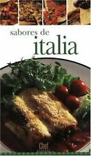 Sabores de Italia (Chef Express) (Spanish Edition)
