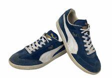 Puma Liga Suede Navy Blue 341466-60 Rare Out Of Stock Men's US Size 8 M