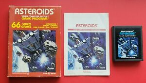 Asteroids Atari 2600 Game Complete with Box & Manual *Cleaned & Tested*