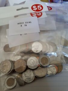World Coins Assorted Bag Of Collectable Coins