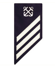 Vanguard COAST GUARD E3 RATING BADGE: BOATSWAIN MATE - BLUE
