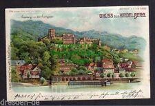 119689 AK Heidelberg 1900 Halt gegen Licht Meteor H. von der Hirschgasse