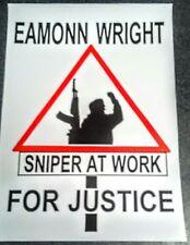IRISH REPUBLICAN POSTER SNIPER AT WORK SOUTH ARMAGH LONG KESH SINN FEIN BELFAST