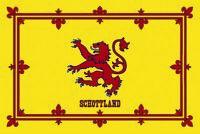 Schottland Scotland Wappen Blechschild Schild gewölbt Metal Tin Sign 20 x 30 cm