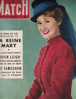 Paris Match Magazine March 28 1953 Vivien Leigh Colette Dereal Pablo Picasso