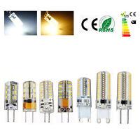 10X G4 G9 3W 5W Birne Stiftsockel LED Leuchtmittel Lampe Warmweiß 12V 220V