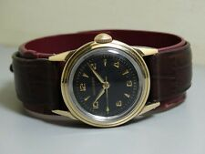 Vintage Movado Winding Gold Top Swiss Made Wrist Watch e312 Old Used Antique