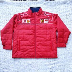 Fila Ferrari Winter Jacket Windbreaker SizeXL