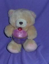 "SWEET LITTLE HALLMARK"" FOREVER FRIENDS  TEDDY BEAR WITH CUPCAKE   (#B74-1)"