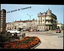 COMMERCY (55) CITROEN DS, MONUMENT aux MORTS 1914-1918 & BANQUE CAISSE D'EPARGNE
