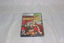 Borderlands (Microsoft Xbox 360, 2009) Platinum Hits Brand New Factory Sealed