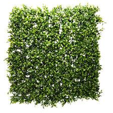 Flower Wall Panel Green Artificial Plants 50 x 50cm