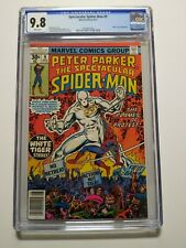 Spectacular Spiderman #9 - CGC 9.8 - WHITE TIGER - 1977 - Over 40 Years Old