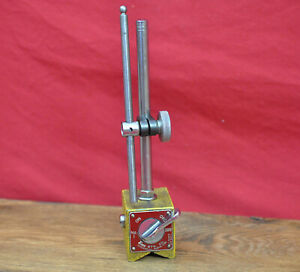 Enco 300 Magnetic Base Indicator Holder Made in Japan w Starrett Attachment Arm